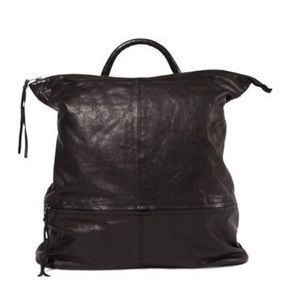 TAGS leather backpack